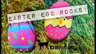 4/9/20 : Coffee : Chat : Create [Easter Egg Rocks]