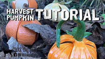 Harvest Pumpkin Clay Kit Tutorial